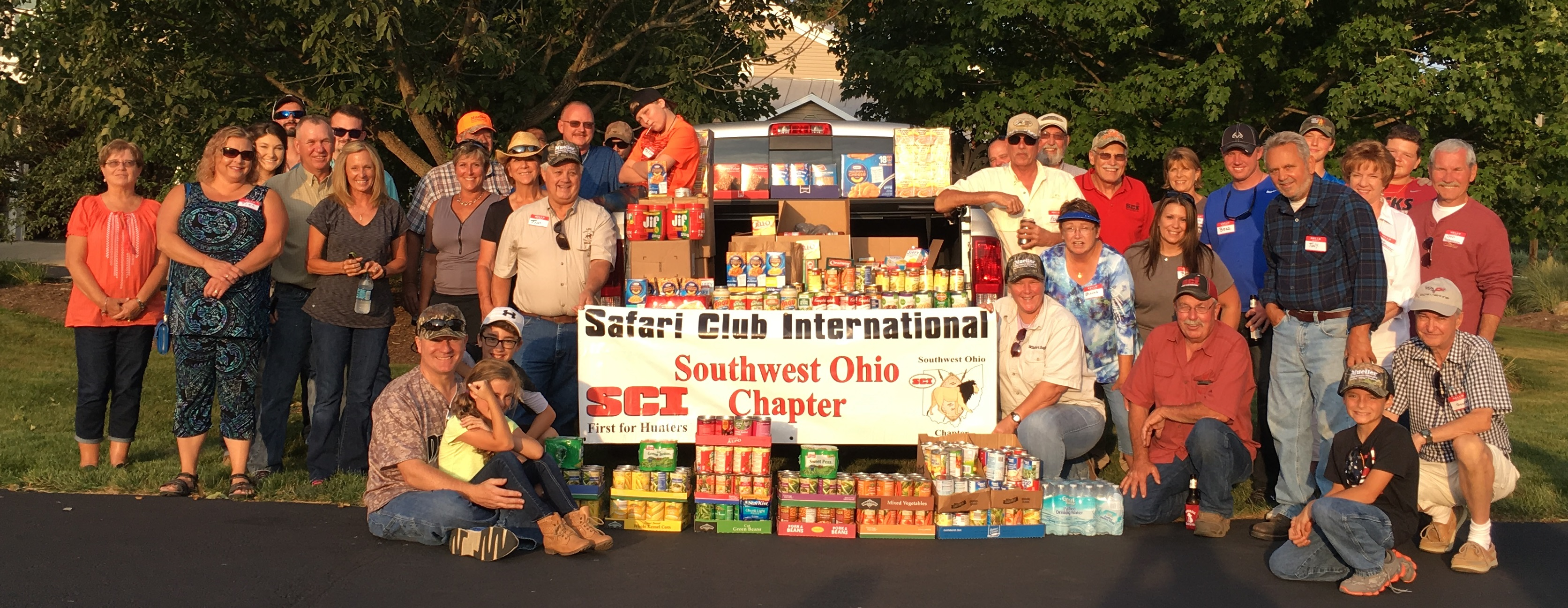 SCI Southwest Ohio Sportsman's Against Hunger Drive